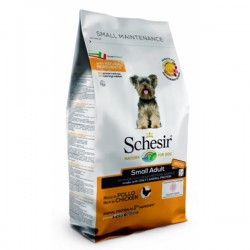 Schesir Adult Small MAINTENANCE, суха храна, с пиле, за малки породи кучета, над 1 година, 800 гр.