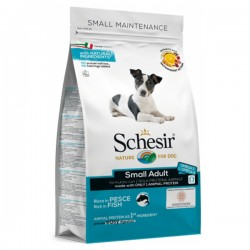 Schesir Adult Small MAINTENANCE, суха храна, с Риба, за малки породи кучета, над 1 година, 800 гр.
