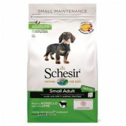 Schesir Small Adult LAMB, суха храна, за малки породи, над 12 месеца (Адълт), с Агнешко, 2 кг.