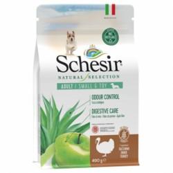 Schesir Natural Selection, суха храна, за малки и той породи, зряла възраст, с Пуйка, 490 гр.