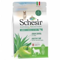 Schesir Natural Selection, суха храна, за малки и ТОЙ породи, адълт, с Агнешко, 490 гр.