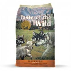 Taste of the Wild - HIGH PRAIRIE PUPPY, с месо от бизон и елен, за кучета до 1 година, 12.200 кг.
