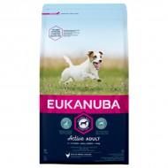 Eukanuba Small Adult – суха храна, за малки породи, адълт над 10 месеца, 1 кг