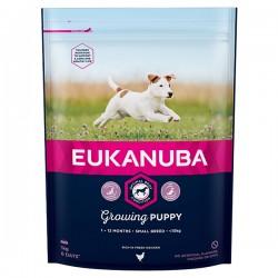 Еukanuba Small Puppy Chicken, суха храна, за малки породи, кученца (пъпи) 2-10 месеца, с Пиле, 2 кг.